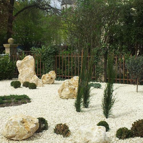 Ziersplitt jura kalk online kaufen transportkostenfrei - Gartengestaltung mit splitt ...